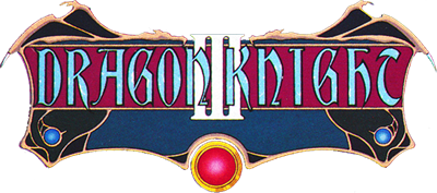 Dragon Knight 3 - Clear Logo