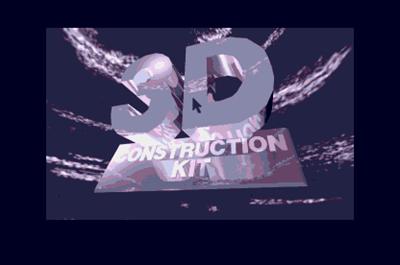 3D Construction Kit - Screenshot - Game Title