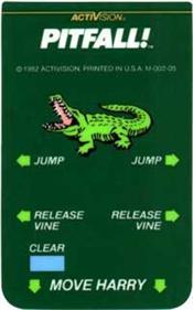 Pitfall! - Arcade - Controls Information