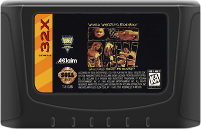 WWF Raw - Cart - Front