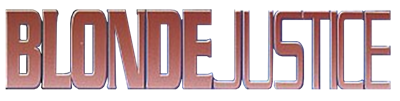 Blonde Justice - Clear Logo