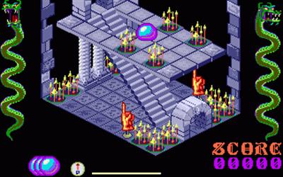 Airball - Screenshot - Gameplay