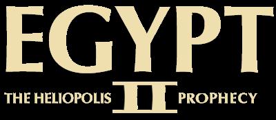 Egypt II: The Heliopolis Prophecy - Clear Logo