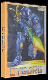 Cyborg - Box - 3D
