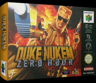 Duke Nukem: Zero Hour - Box - 3D
