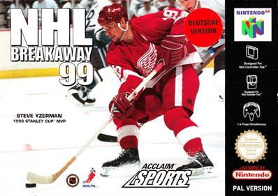 NHL Breakaway 99 - Box - Front