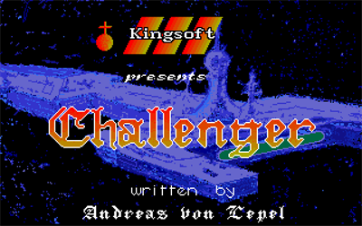 Challenger - Screenshot - Game Title