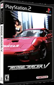 Ridge Racer V - Box - 3D