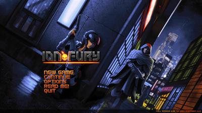 Ion Fury - Screenshot - Game Title