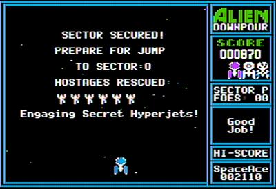 Alien Downpour - Screenshot - Gameplay