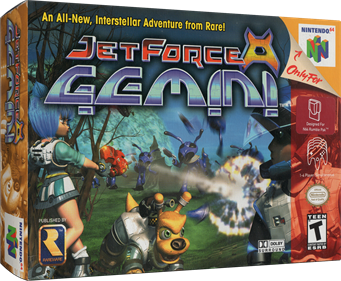 Jet Force Gemini - Box - 3D