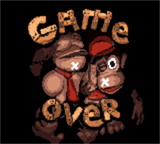Donkey Kong Country - Screenshot - Game Over