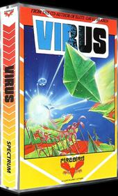Virus - Box - 3D