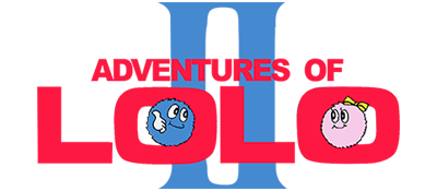 Adventures of Lolo 2 - Clear Logo