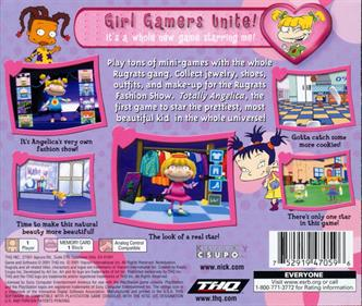 Rugrats: Totally Angelica - Box - Back