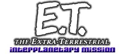 E.T. The Extra-Terrestrial: Interplanetary Mission - Clear Logo