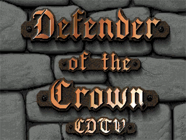 Defender of the Crown - Screenshot - Game Title