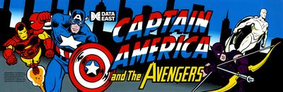 Captain America and the Avengers - Arcade - Marquee