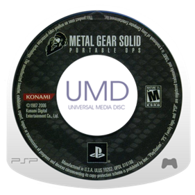 Metal Gear Solid: Portable Ops - Disc