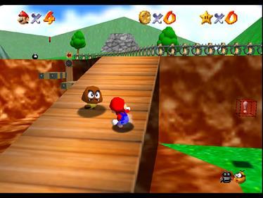 Super Mario 64 - Screenshot - Gameplay
