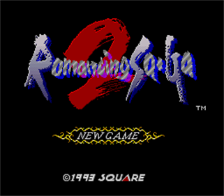 Romancing Sa·Ga 2 - Screenshot - Game Title