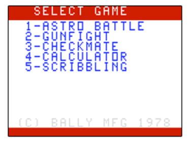 Astro Battle - Screenshot - Game Title