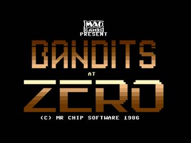 Bandits at Zero - Screenshot - Game Title