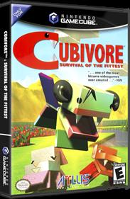Cubivore: Survival of the Fittest - Box - 3D