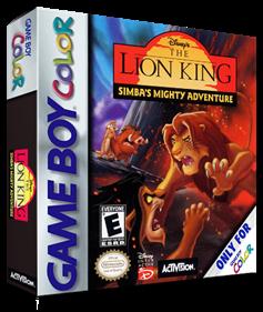 Disney's The Lion King: Simba's Mighty Adventure - Box - 3D