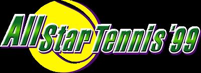 All Star Tennis 99 - Clear Logo
