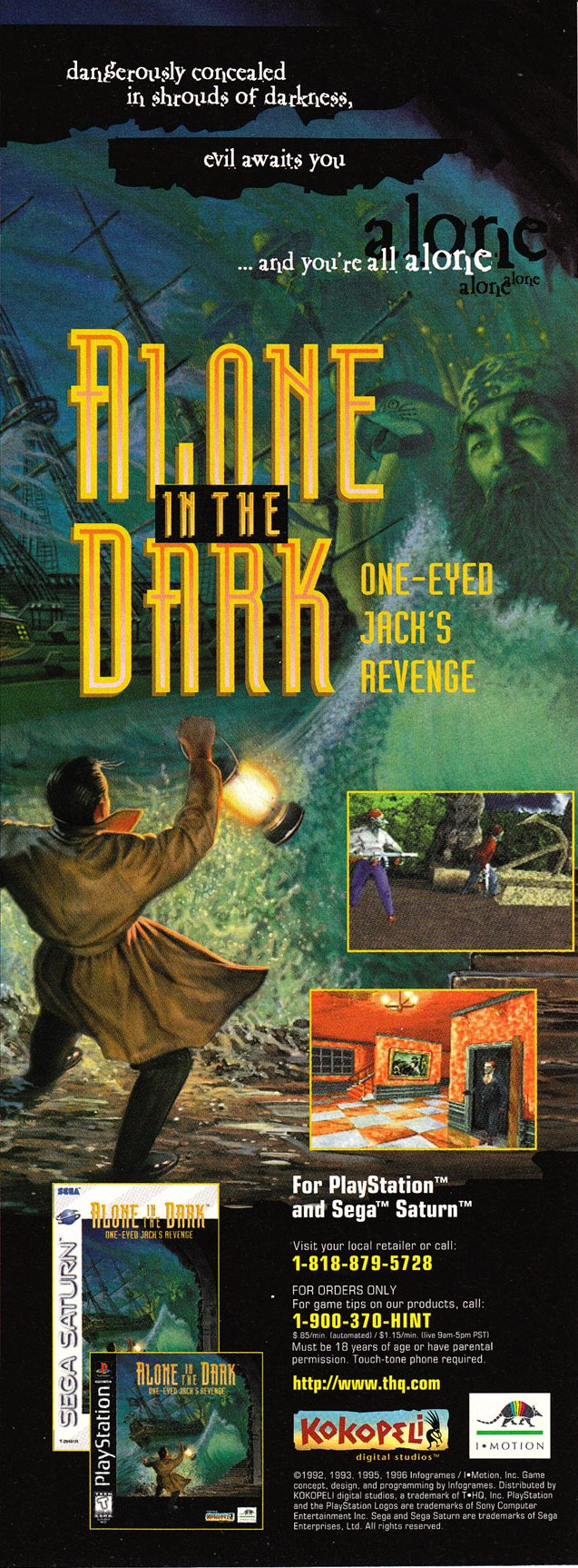 Alone In The Dark One Eyed Jack S Revenge Details Launchbox