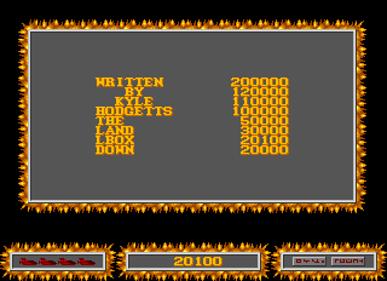 Cortex - Screenshot - High Scores