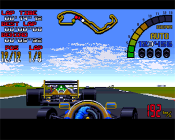 Nigel Mansell's World Championship - Screenshot - Gameplay