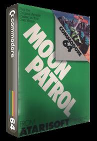 Moon Patrol (Atarisoft) - Box - 3D