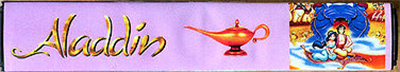 Aladdin - Banner