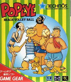 Popeye Beach Volley Ball - Box - Front