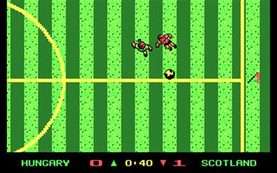 Keith Van Eron's Pro Soccer - Screenshot - Gameplay