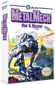 Metal Mech: Man & Machine - Box - 3D
