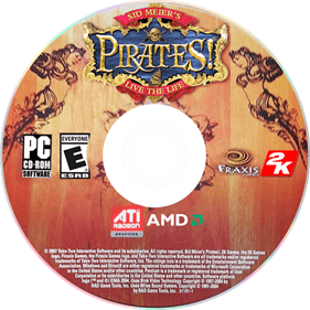 Sid Meier's Pirates! - Disc