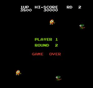 Dig Dug II: Trouble in Paradise - Screenshot - Game Over