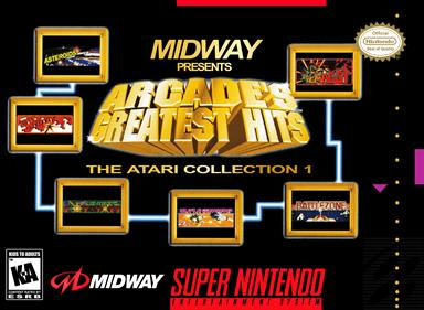Arcade's Greatest Hits: The Atari Collection 1 - Box - Front - Reconstructed