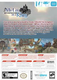 Final Fantasy Crystal Chronicles: My Life as a King - Box - Back