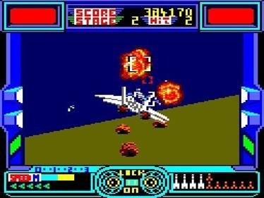 After Burner - Screenshot - Gameplay