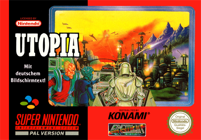 Utopia: The Creation of a Nation - Box - Front