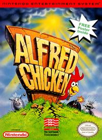 Alfred Chicken - Box - Front