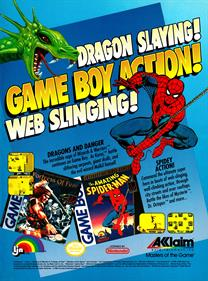 The Amazing Spider-Man - Advertisement Flyer - Front
