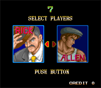 64th. Street: A Detective Story - Screenshot - Game Select