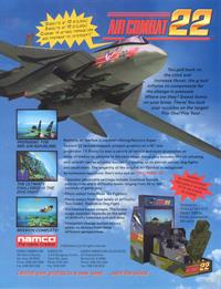 Air Combat 22 - Advertisement Flyer - Front