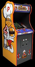 Burger Time - Arcade - Cabinet