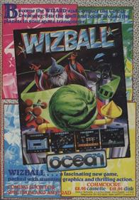 Wizball - Advertisement Flyer - Front